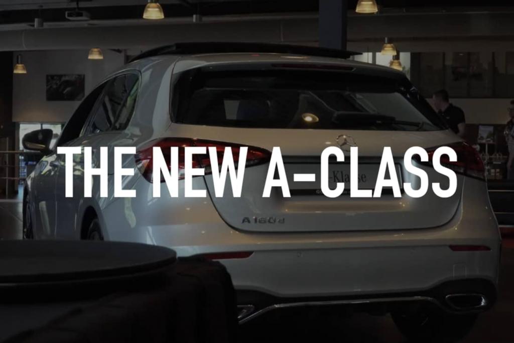 Introductie Mercedes A-klasse